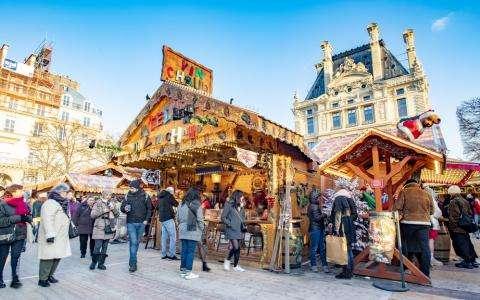 La magie de Noël à Paris